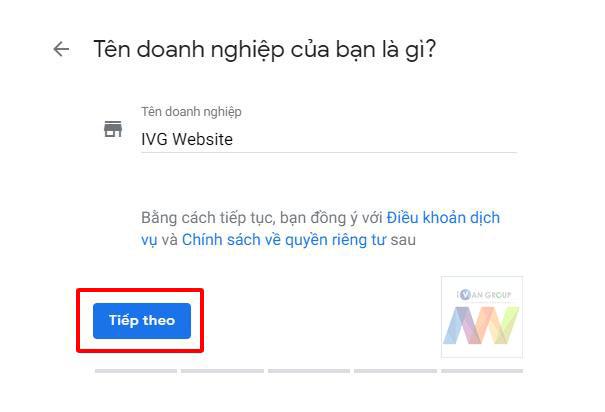 Hướng dẫn tạo Google Map Business 3 - 2019