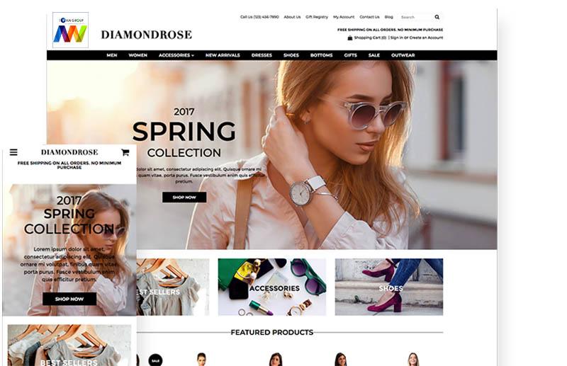 Thiết kế website bán hàng đẹp độc