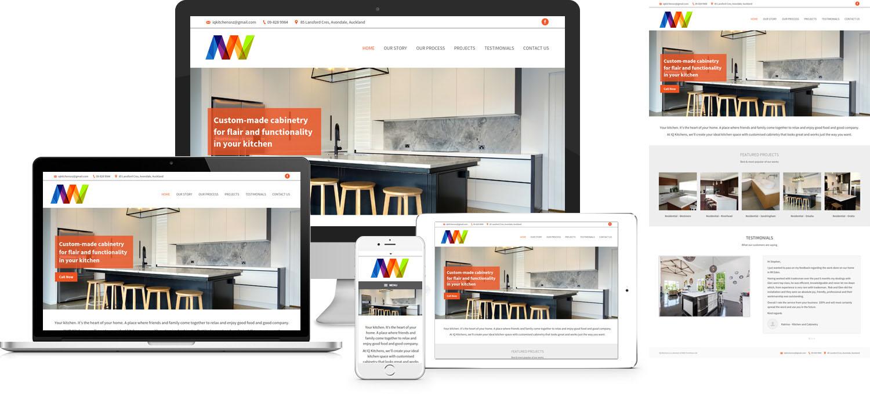 Website kiến trúc nội thất